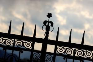 Abbazia di Montecassino - Particolare del Cancello d'ingresso