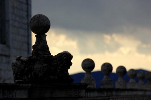 Cassino - Abbazia di Montecassino - Particolare del motivo 2