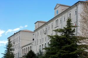 Abbazia di Montecassino - Facciata dell' Abbazia