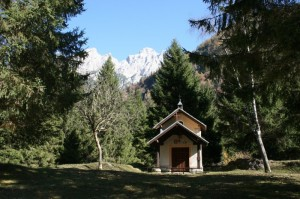 La chiesetta della Val d'algone - Trentino