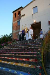 chiesa di san rocco infiorata