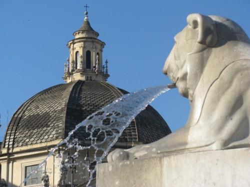 Roma - Fontana di Piazza del Popolo