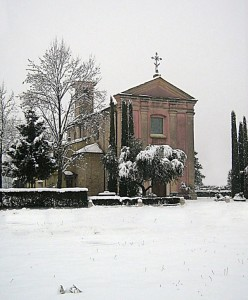 Neve a San Michele
