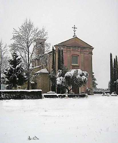 Castel Goffredo - Neve a San Michele