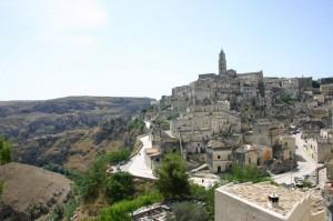 il campanile che domina Matera