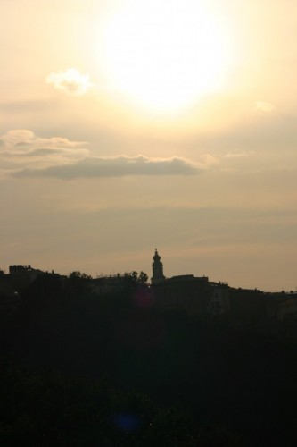 Salento - Chiesa al crepuscolo