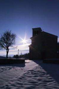 la stella della Chiesa di Rosano (RE)