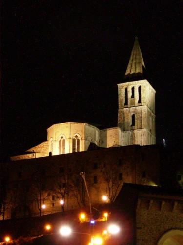 Todi - Tempio di San Fortunato - Notturno