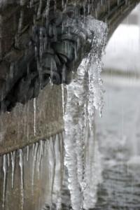 Inverno gelido: clochard