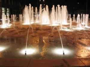 fontana di ghiaccio
