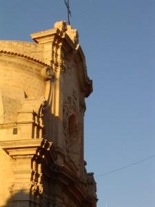 Chiesa dell'Addolorata al tramonto