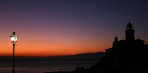 Camogli by night