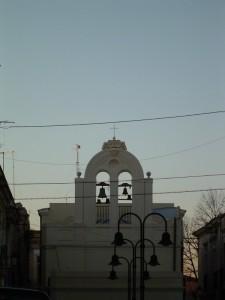Campanile di San Giuseppe al crepuscolo
