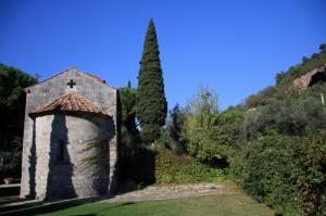 Toscana - All'interno del parco termale di Uliveto Terme