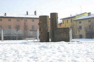 Soli nella neve
