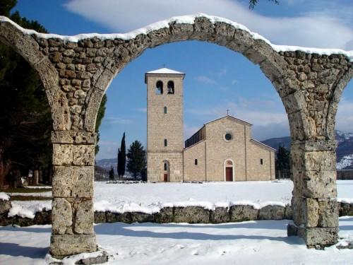 Castel San Vincenzo - Abbazia S. Vincenzo al Volturno