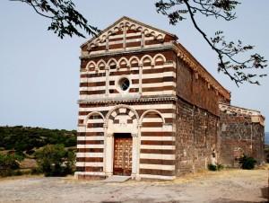 """Chiesa di San Pietro di Simbranos detta  """"Il Crocifisso"""""""
