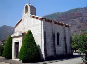Cappella cattolica del cimitero militare francese di Venafro