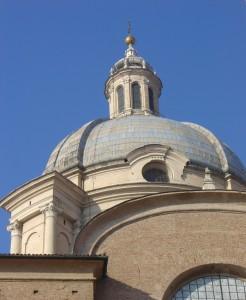 cupola della chiesa di s. andrea