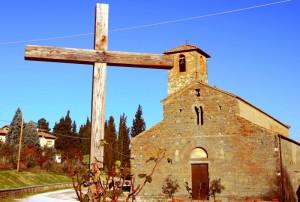 Pieve di San Romolo a Gaville(Figline Valdarno)
