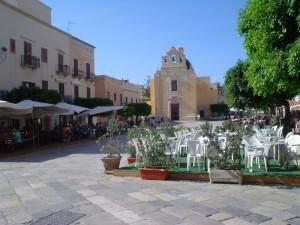 La chiesa dell'isola