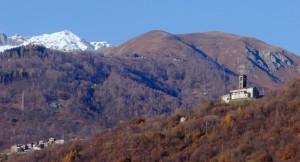 Sant'Eusebio ed il paese di Peglio