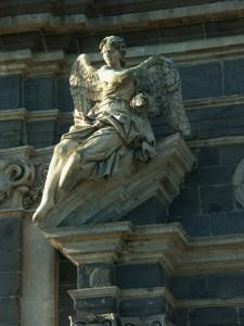Adrano - chiesa di S. Lucia, particolare