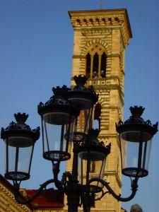 illuminando il campanile