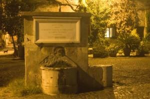 Fontana del Borgo di Ostia Antica