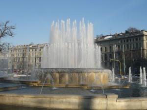 Fontana di Piazza Castello.