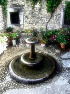 Fontana di rose