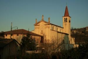 la chiesetta di Sorio