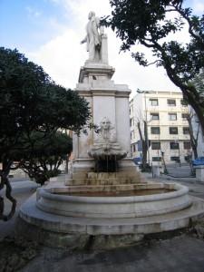 fontana di piazza di nava