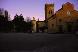 In piazza della chiesa