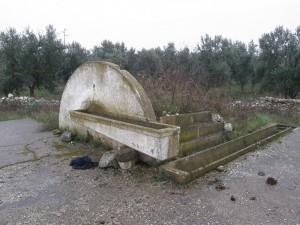 Fontana antica di campagna