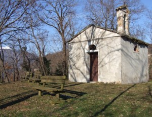 oratorio dedicato a San Luca in s. vito di Valdobbiadene