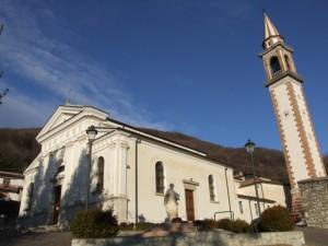 chiesa parrocchiale di s. Vito di Valdobbiadene