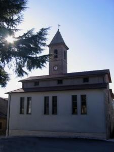La chiesa di Petricci