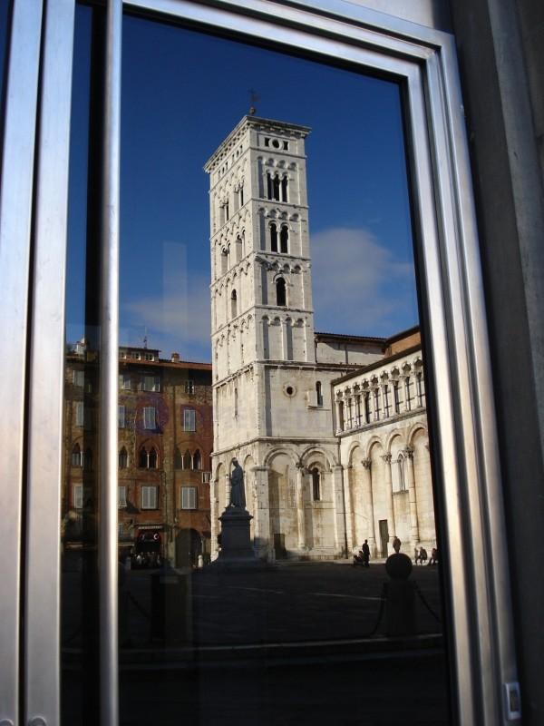 ''Cornice moderna per riflesso antico'' - Lucca
