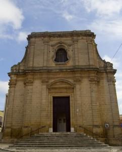Vista Frontale Chiesa S.S. Maria immacolata Fragagnano