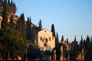 Santa Teuteria e Tosca al tramonto
