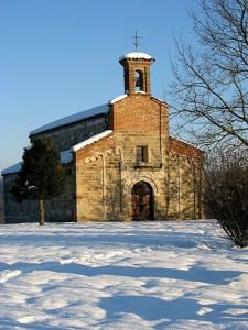 San Secondo Romana sotto la Neve