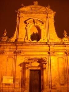 Chiesa di San Domenico: tra nuvole e nebbia