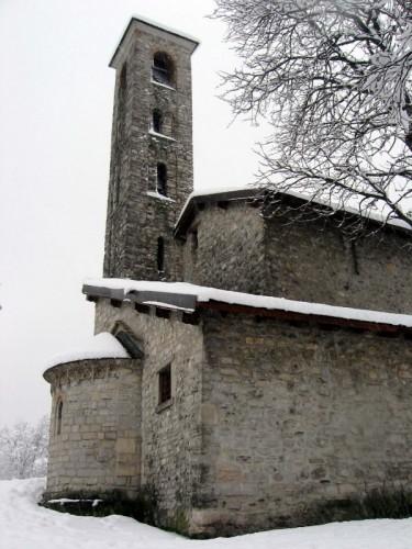 Como - La chiesa Romanica di Quarcino
