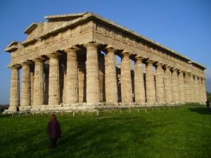 sindrome di stendhal davanti al tempio di Nettuno