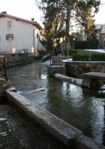 Il lavatoio sul torrente oramai solo una memoria - Calavino - Trentino