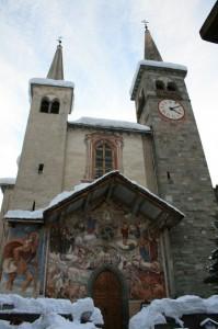 CHIESA DI SAN MICHELE - RIVA VALDOBBIA (VC)