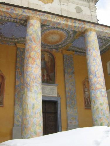 Castelmagno - INGRESSO SANTUARIO SAN MAGNO