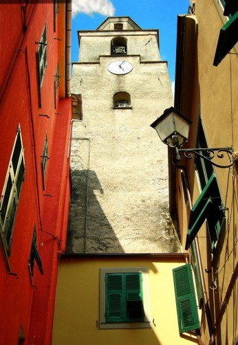 Varese Ligure - Il Campanile di Santa Croce