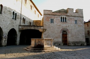 San Silvestro e la fontana